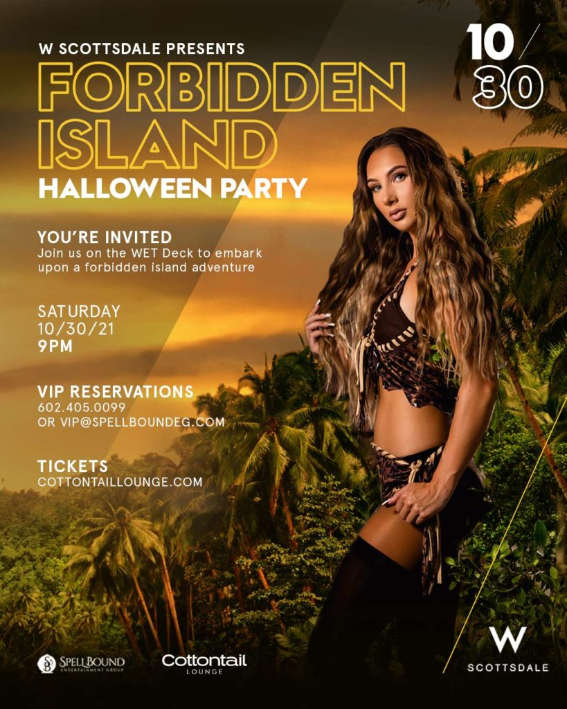 forbidden Island Halloween Party